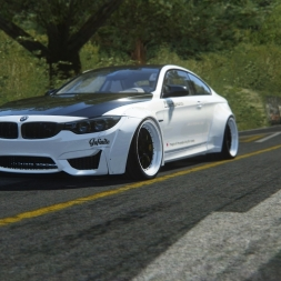 Assetto Corsa-BMW M4 Liberty Walk(Part-2-Pure Sound)
