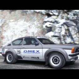 Dirt Rally - Approche du Col de Turini Best Run with Opel Kadett