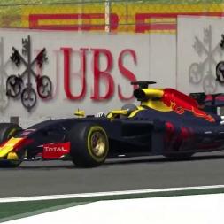 F1 2017 Mod (ACFL Beta Test) 1:19.395 @ Barcelona Catalunya | SrPetete