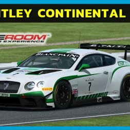 Raceroom - Bentley Continental GT3 at Silverstone (PT-BR)