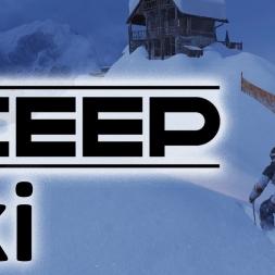 Steep - Ski   Mont Blanc Cabin   POV   EXTREME FREESTYLE   Tricks   Jumps [4K]