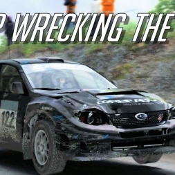 I KEEP WRECKING THE CAR - Subaru Impreza R4 @ Rally of Wales Dirt Rally