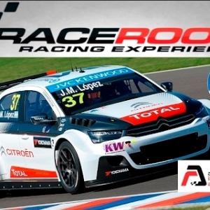 RaceRoom Racing Experience WTCC 2015 Citroën Portimao backfire run+setup