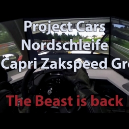 Project Cars - Nordschleife - Ford Capri Zakspeed  - The Beast is Back - 100% Turbo