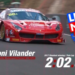 Liqui Moly Bathurst 12H - Toni Vilander Ferrari 488 GT3 Pole Lap