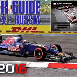 Round 4 - RUSSIAN GP Track Guide + Hotlap - F1 2016