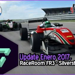 RACEROOM RACING EXPERIENCE | ACTUALIZACION ENERO | FR3 - SILVERSTONE GP. | ESPAÑOL HD.