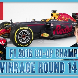 TwinRaGe Youtube Co-op Championship F1 2016 - Round 14 Italy