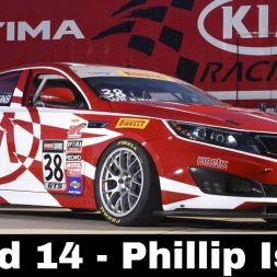 iRacing BSR Kia Cup Series Round 14 - Phillip Island