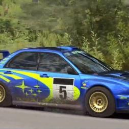 Flying Subaru: DiRT Rally