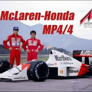 Assetto Corsa | McLaren-Honda MP4/4 (Mod) Showcase @ Monza
