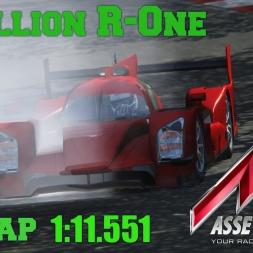 Assetto Corsa Rebellion R-One 1:11.551 @ Gen Track 1