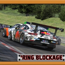 """iRacing: 'Ring Blockage"" (Porsche iRacing Cup at the Nordschleife)"