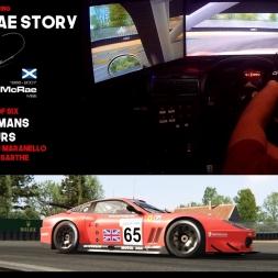 Colin McRae Sim Racing Story Part 5 of 6 Ferrarri 550 GTS Le Mans