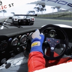 Assetto Corsa Mixed Reality Porsche 962c ST Real Onboard Cam at Bugatti Circuit