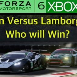 Forza 6 - Aston Versus Lamborghini
