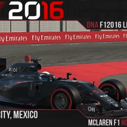 F1 2016 // Ramteam F1 2016 League S1, R19 - Mexico [60fps]