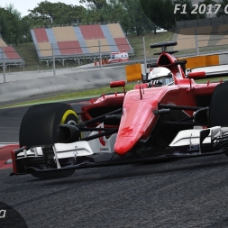 Assetto Corsa F1 2017 Concept by SRJ Onboard Barcelona
