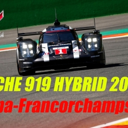 Assetto Corsa | Porsche 919 Hybrid 2016 | Showcase @ Spa-Francorchamps | POV