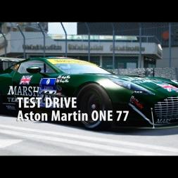 Aston Martin ONE 77 / Checkup / Assetto Corsa