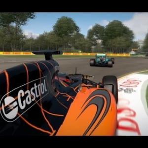 F1 2017 Mod  McLaren Honda Sean Bull Livery | SrPetete