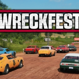 Wreckfest Early Access | Singleplayer Race @ Updated Gravel Track 1