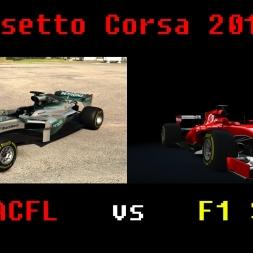 Assetto Corsa  F1 ACFL vs F1 SRJ 2017 MONZA GP NO HELP