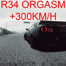 [60 FPS] Racer Free Car Simulator - Nissan Skyline GT-R R34 Tuned (Drag Spec)