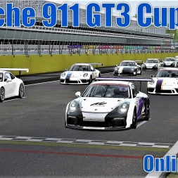 Online Race - Porsche 911 GT3 Cup 2017 at Monza - Assetto Corsa (Fonsecker Sound Mod)