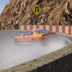 On-Board Toyota Supra Drift | Assetto Corsa