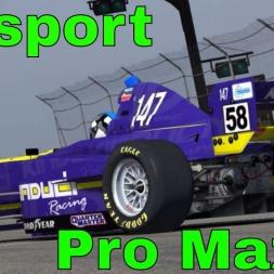 iRacing Pro Mazda at Mosport - Good Close Race
