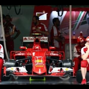 Baseline Setup: Ferrari SF-15T