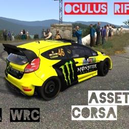 VR [Oculus Rift] Fiesta RS WRC @ Peyregrosse   Assetto Corsa Gameplay