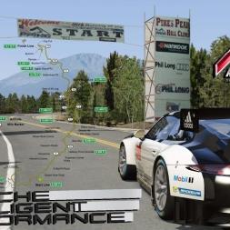 Assetto Corsa * Pikes Peak Hill Climb * Porsche 911 GT3 R 2016 [TV view]