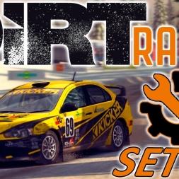 DiRT Rally   Mitsubishi Lancer Setup   Sweden   Wheel & Controller [4K]