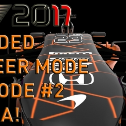 GP2 ENGINE! F1 2017 Modded Career Mode Episode 2 China F1 2014 Game