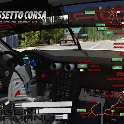 Assetto Corsa * Pikes Peak Hill Climb * Porsche 911 GT3 R 2016 [onborad]