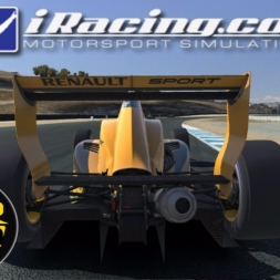 iRacing AOR Formula Renault 2 0 Championship onboard with commentary - Round 17 - Laguna Seca