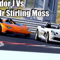 Assetto Corsa - Aventador J Vs SLR Stirling Moss - Good and bad Weather Graphics mod 1440p
