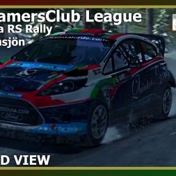 Dirt Rally - WRC GamersClub - Östra Hinnsjön - Ford Fiesta RS Rally - Onboard