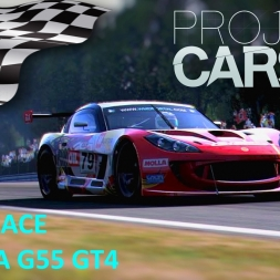 Project CARS Brno Race with Ginetta G55 GT4 + setup