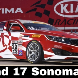 iRacing BSR Kia Cup Series Round 17 - Sonoma Cup