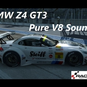RaceRoom Racing Experience - BMW Z4 GT3 @Monza - Pure V8 Sound