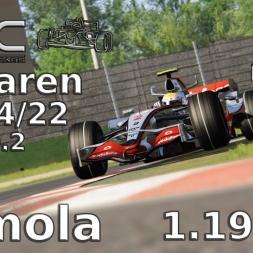 Assetto Corsa | VRC McLaren MP 4/22 (V0.2) | Imola | 1.19,247