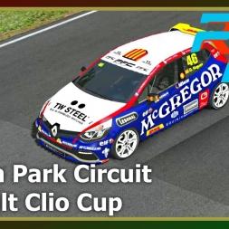 RFactor 2 - Oulton Park - Renault Clio Cup - 5 laps vs AI