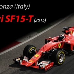 Ferrari SF15-T - 1.22.846 @Monza (ITA) - Assetto Corsa 1.11.4