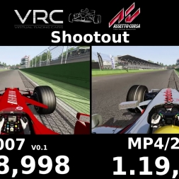 Assetto Corsa | VRC Ferrari F2007 vs. VRC McLaren MP 4/22 | Shootout at Imola