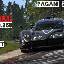 VR [Oculus Rift] Pagani Zonda R Nordschleife 6:23.350 - Record | Assetto Corsa Gameplay