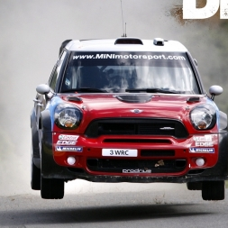 DIRT RALLY 2017 | Mini Countryman WRC | More Bacfire | More Flames | More FUN