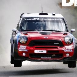 DIRT RALLY 2017 | Mini Countryman WRC | More Bacfire | More Flames | More FUN